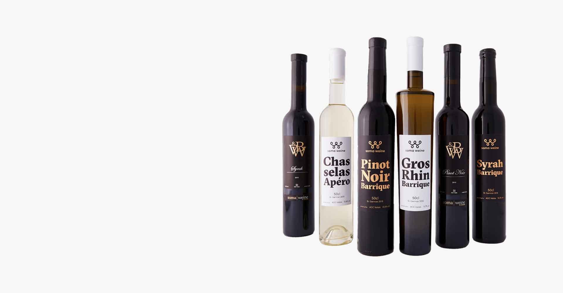 Angebot premium Weinpaket von soma weine 2015
