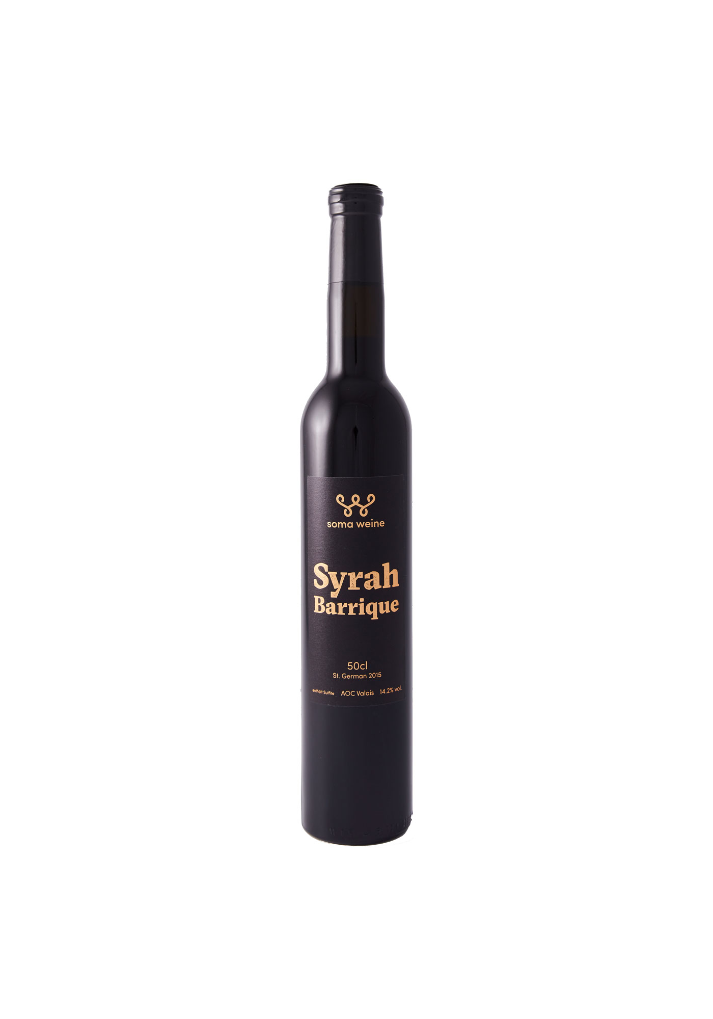 soma Weinflasche Syrah Barrique 2015
